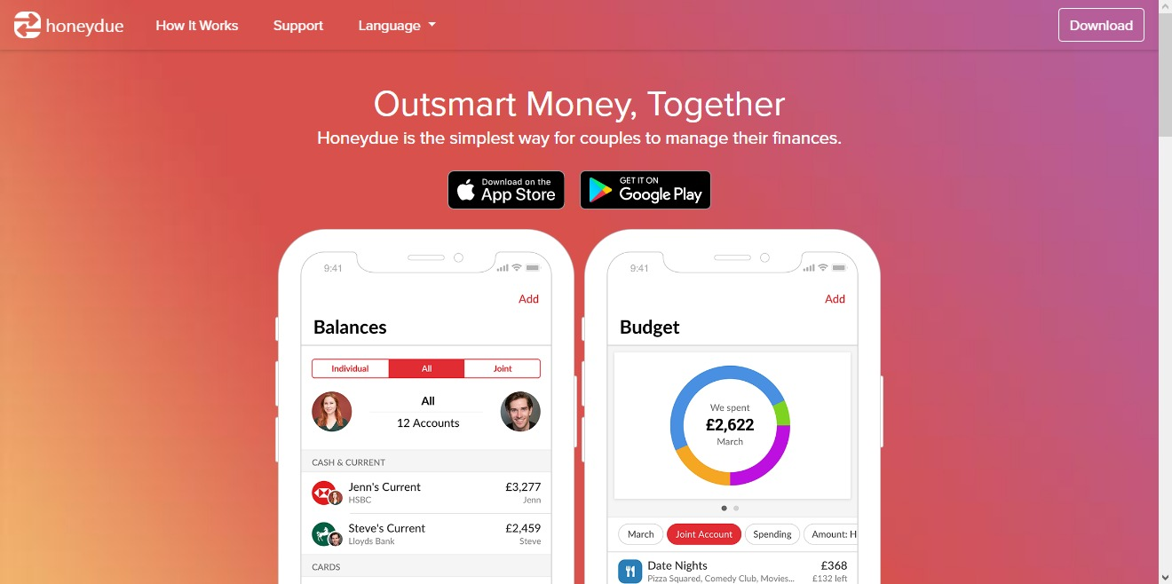 best budget apps for couples